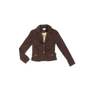 Vintage FIORUCCI Brown Stretch Cotton Twill Blazer